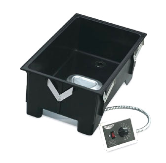 "Vollrath Cayenne Model 3002 Drop-In WARMER with REMOTE MOUNT control with DRAIN with std 12""x20"" opening - 72107"