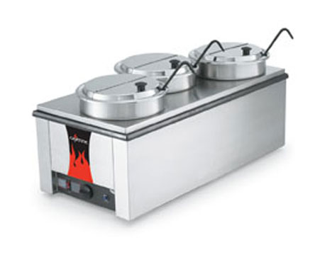 Vollrath Cayenne 4/3 Countertop Warmer / Rethermalizer with Accessory Kit - 72788