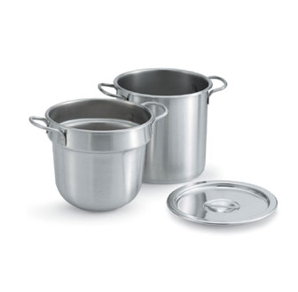 Vollrath Double Boiler Inset Stainless - 77133