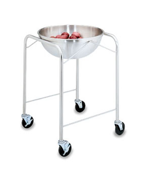 Vollrath Mobile Bowl Stand Unit with O Tray Slides - 79301