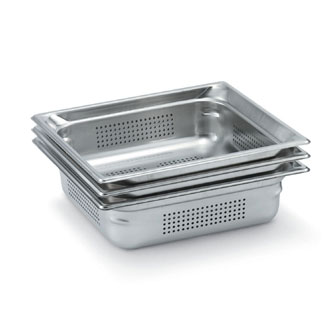"Vollrath Super Pan 3 Full Size Perforated Food Pan 2.5"" deep - 90023"