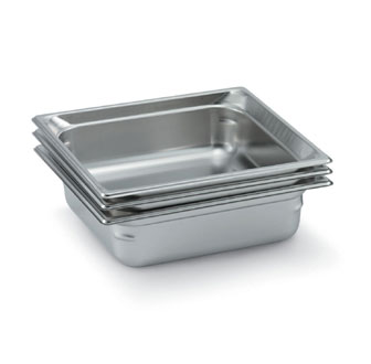 "Vollrath Super Pan 3 Two-Thirds Size Food Pan 6"" deep - 90162"