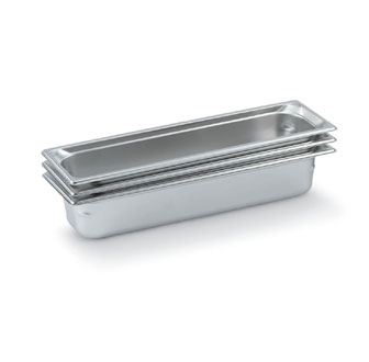 "Vollrath Super Pan 3 Half-Long Size Food Pan 1.5"" deep - 90512"