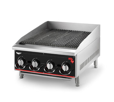 Vollrath Cayenne Heavy-Duty Charbroilers Radiant and Lava CG Models