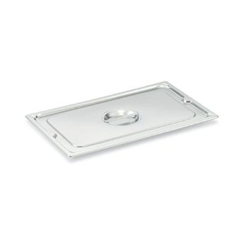 Vollrath Super Pan 3 Full Size Flat Solid Cover 22 gauge 18-8 (EU 18-10) S/S - 93100