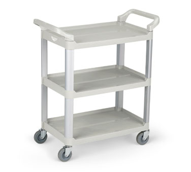 Vollrath Plastic Cart GRAY multi-purpose - 97004
