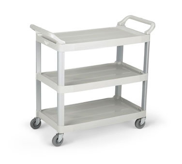 Vollrath Plastic Cart GRAY multi-purpose - 97005