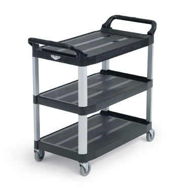 Vollrath Plastic Cart BLACK multi-purpose - 97007