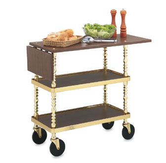 Vollrath Service Cart Sculptura Captains' Trolley - 97035
