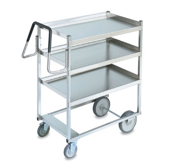 Vollrath Cart 650 pound capacity with RAISED Lower Shelf - 97201