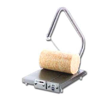 Vollrath Cheese Blocker accommodates blocks up to 40 lbs and wheels up to 35 lbs. - 1837