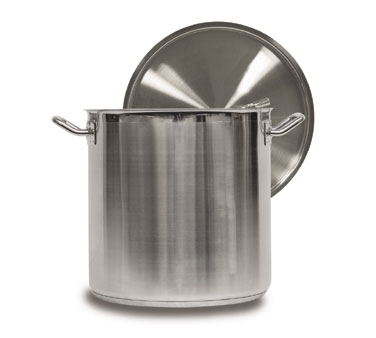 Vollrath Optio Stock Pot with Cover 53 qt. - 3513