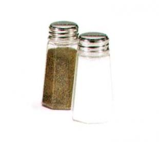 Vollrath Dripcut Salt & Pepper Shaker 2 oz. - 302-0