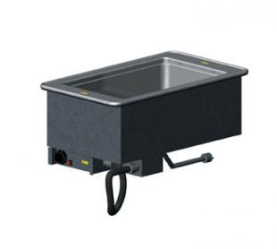"Vollrath 1-WELL HOT MODULAR DROP-IN with THERMOSTATIC CONTROL & STD DRAIN holds 12"" x 20""/equiv fractional pans up to"
