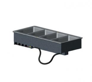 Vollrath 4-WELL HOT MOD DROP-IN with INFINITE CONTROLS & STD DRAINS 18-8 s/s - 36474