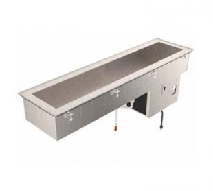 Vollrath 2-PAN REFRIGERATED SHORT SIDE DROP-IN 18-8 stainless steel - 36652