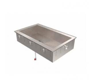 Vollrath 2-PAN NON-REFRIGERATED SHORT SIDE COLD PAN DROP-IN 18-8 stainless steel - 36654
