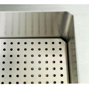 "Vollrath Perforated False Bottom - Signature Server Classic 46"" Cold Food Pan Station - 36914-2"