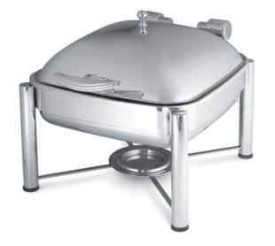 Vollrath Intrigue Stand for Induction Chafers allows square Induction Chafers to be used as traditional chafers - 46113