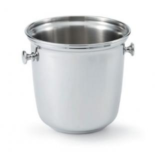 Vollrath SILVERPLATED Wine Bucket with Side Knob Handles Double bottle bucket - 48325