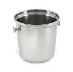 Vollrath SILVERPLATED Wine Bucket with Side Knob Handles Single bottle bucket - 48330