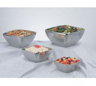 Vollrath Square Beehive Double-Wall Insulated Bowl 1.8 qt. - 47632