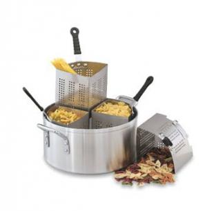 Vollrath Pasta and Vegetable Cooker Set Complete Aluminum - 68127
