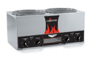 Vollrath Cayenne Twin 7-QtWell Countertop Cooker/Warmer with Accessory Kit - 72029