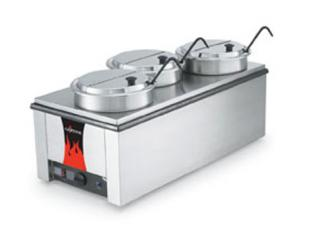 Vollrath Cayenne 4/3 Counter Warmer with Accessory Kit Counter Warmer - 72788