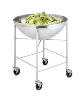 Vollrath Mobile Bowl Stand ONLY Stainless for use with 79818 80 qt - 79018