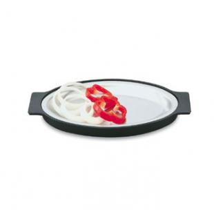 Vollrath Steak Platter Oval with underliner - 81170