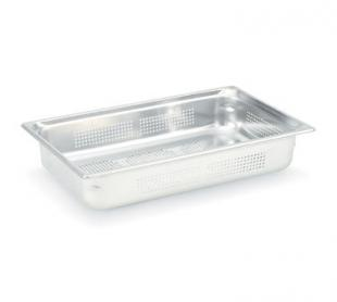 "Vollrath Super Pan 3 Full Size Perforated Food Pan 4"" deep - 90043"