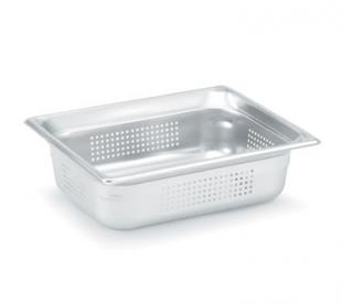 "Vollrath Super Pan 3 Half Size Perforated Food Pan 4"" deep - 90243"