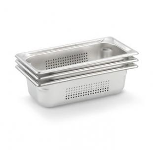 "Vollrath Super Pan 3 Third Size Perforated Food Pan 1.5"" deep - 90313"