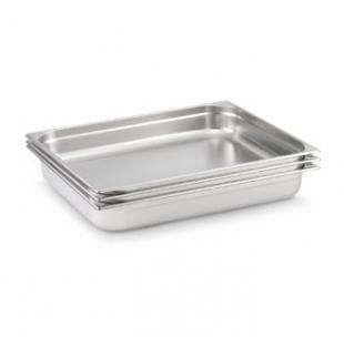 Vollrath Super Pan 3 Double Size Flat Solid Cover 22 gauge type 304 (EU 18-10) Bright Annealed Stainless - 92002
