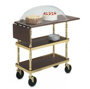 Vollrath Service Cart Sculptura Dessert Trolley with Dome - 97008