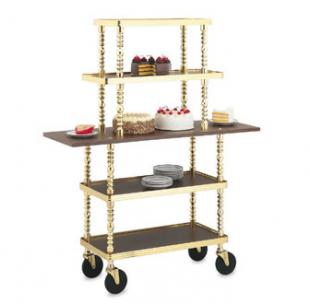 Vollrath Service Cart Sculptura Pastry Trolley - 97009