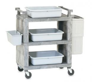 Vollrath Utility Cart closed end - 97111