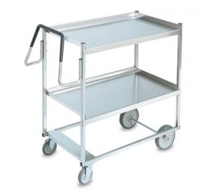 Vollrath Cart 650 pound capacity with RAISED Lower Shelf - 97200
