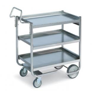 Vollrath Heavy Duty knock down Cart with Tubular Handle 650 pound capacity - 97211