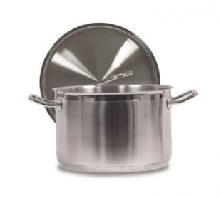 Vollrath Optio Sauce Pot with Cover 16 qt. - 3904