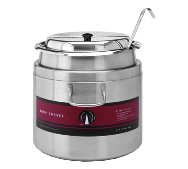 Round Soup Cooker Warmer