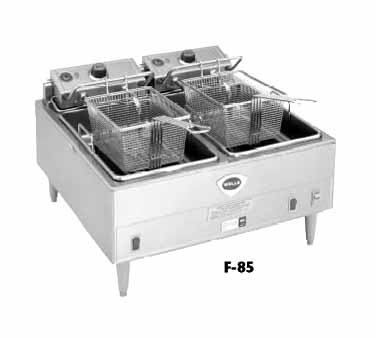 Wells Fryer 15-lb cap.  - F-85