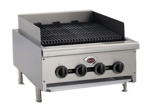 "Wells Charbroiler 24"" wide - HDCB-2430G"