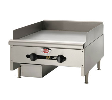 "Wells Griddle 48"" W. - HDG-4830G"