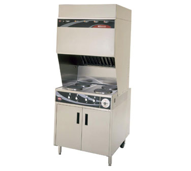Wells VCS2000 Ventless Cooktop - WV-4HF