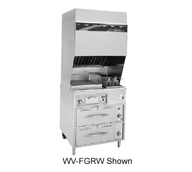Wells VCS2000 Ventless Cooktop - WV-FG