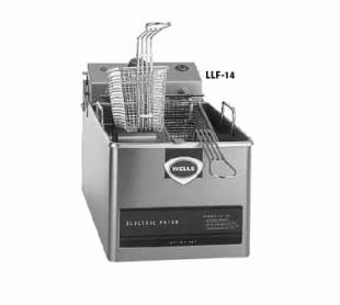 Wells Countertop Electric Fryer LLF-14, 14 Lb. Capacity