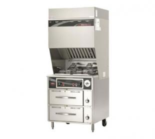 Wells VCS2000 Ventless Dual Fryer w/Auto-Lifts - WVF-886RW