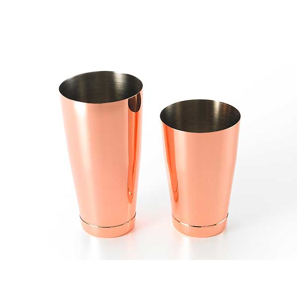 Mercer Barfly Cocktail Shaker Set Includes: (1) Each 28 Oz. & 18 Oz. Shaker - M37009CP